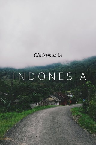 INDONESIA Christmas in