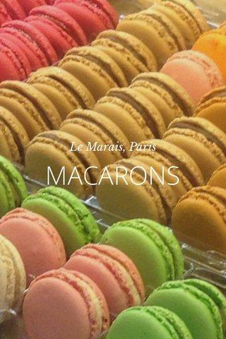 MACARONS Le Marais, Paris