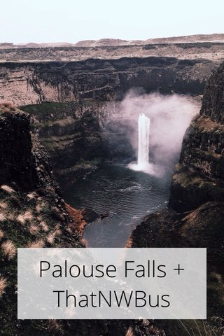 Palouse Falls + ThatNWBus