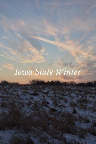 Iowa State Winter