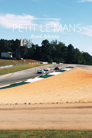 PETIT LE MANS Road Atlanta