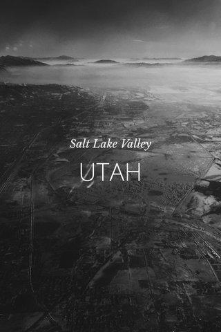 UTAH Salt Lake Valley
