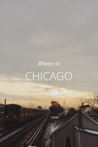 CHICAGO Winter in