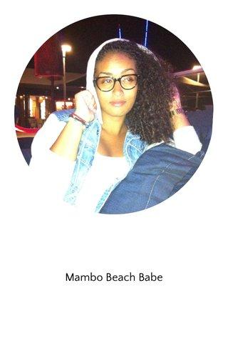Mambo Beach Babe