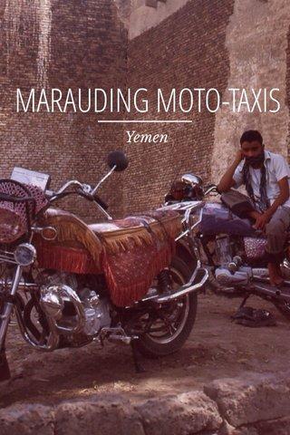 MARAUDING MOTO-TAXIS Yemen