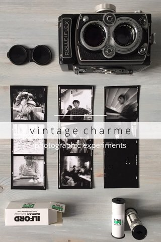 vintage charme photographic experiments