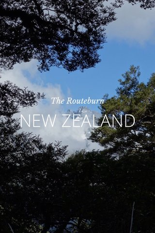 NEW ZEALAND The Routeburn