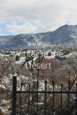 Winter in the Desert New Mexico