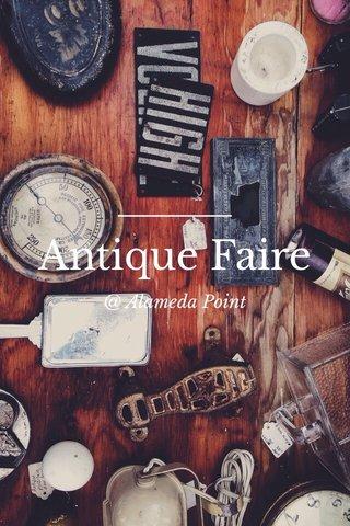 Antique Faire @ Alameda Point