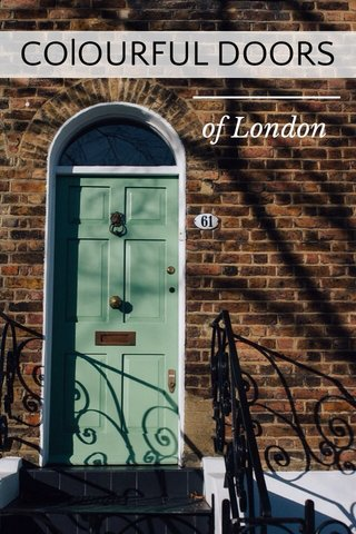 COlOURFUL DOORS of London