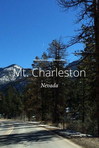 Mt. Charleston Nevada