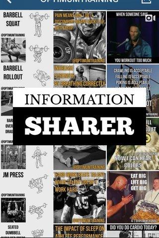 SHARER INFORMATION