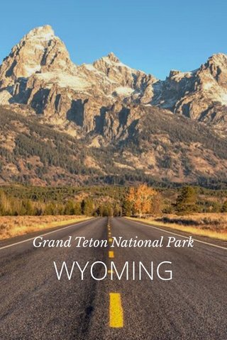 WYOMING Grand Teton National Park