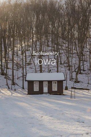 Iowa Backcountry