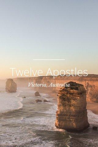 Twelve Apostles Victoria, Australia