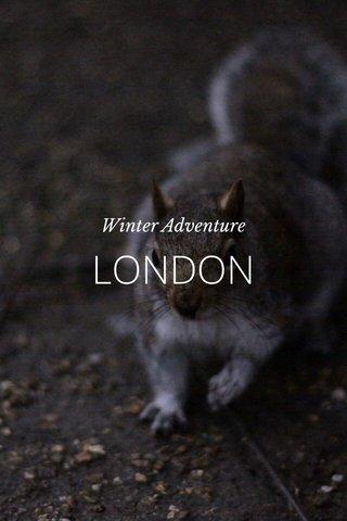 LONDON Winter Adventure