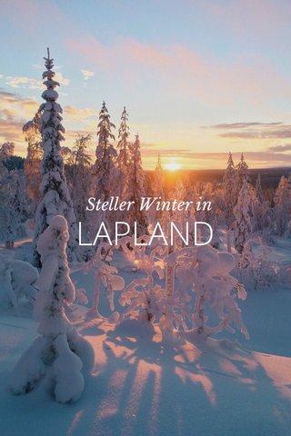 LAPLAND Steller Winter in