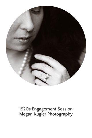 1920s Engagement Session Megan Kugler Photography