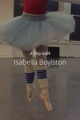 Isabella Boylston A Day with