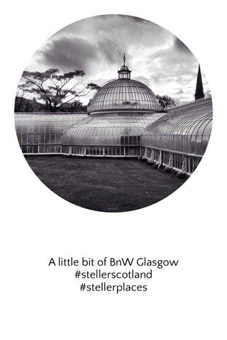 A little bit of BnW Glasgow #stellerscotland #stellerplaces