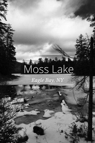 Moss Lake Eagle Bay, NY