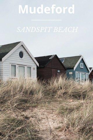 Mudeford SANDSPIT BEACH