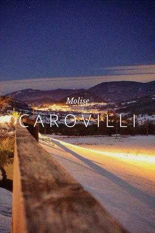 CAROVILLI Molise