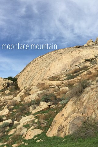 moonface mountain