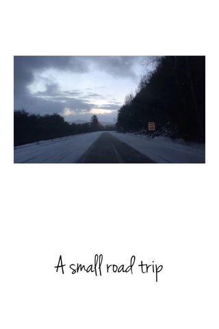 A small road trip