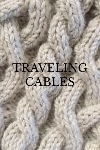 TRAVELING CABLES