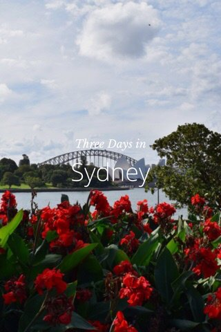 Sydney Three Days in