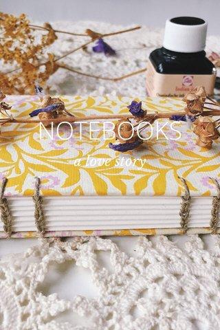 NOTEBOOKS a love story