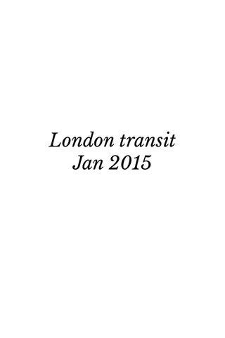 London transit Jan 2015