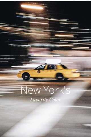 New York's Favorite Color