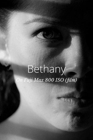 Bethany On Fuji Max 800 ISO (film)