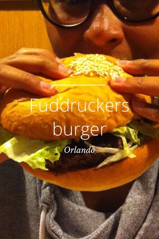 Fuddruckers burger Orlando