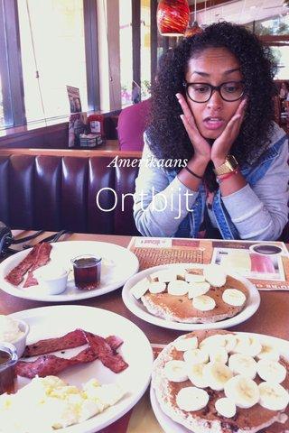 Ontbijt Amerikaans