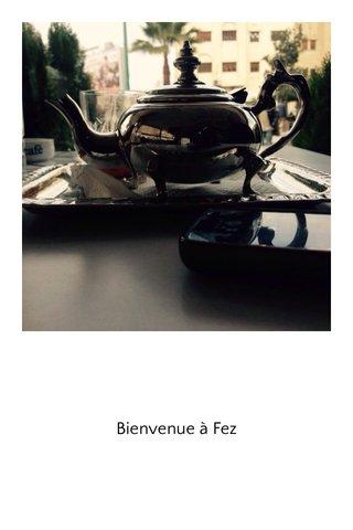 Bienvenue à Fez