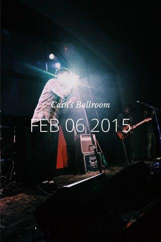 FEB 06 2015 Cain's Ballroom
