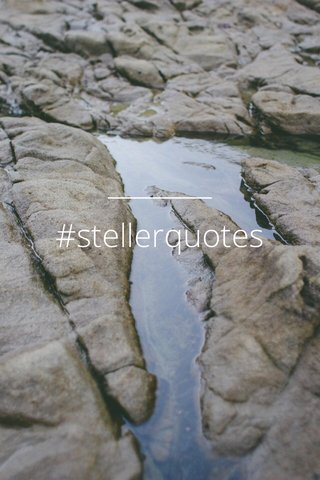 #stellerquotes