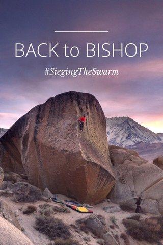 BACK to BISHOP #SiegingTheSwarm