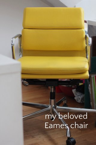 my beloved Eames chair