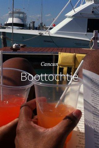 Boottochtje Cancun