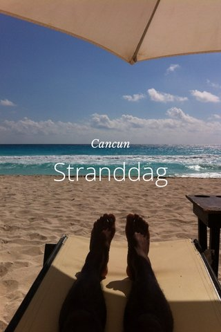 Stranddag Cancun