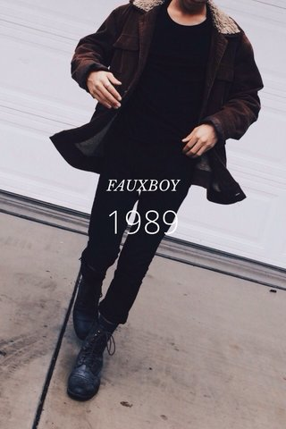 1989 FAUXBOY