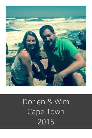 Dorien & Wim Cape Town 2015