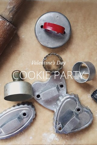 COOKIE PARTY Valentine's Day