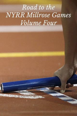Road to the NYRR Millrose Games Volume Four