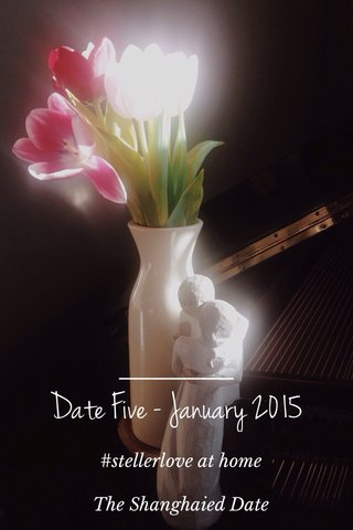 Date Five - January 2015 #stellerlove at home The Shanghaied Date