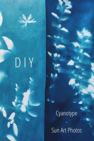 DIY Cyanotype - Sun Art Photos